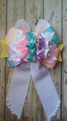 Diy Crafts - Bere make it for Jaynie! Ribbon Hair Bows, Diy Hair Bows, Diy Bow, Diy Ribbon, Ribbon Crafts, Diy Crafts, Hair Bow Tutorial, Ribbon Sculpture, Boutique Hair Bows