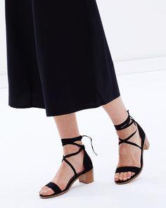 Athena Lace-Up Heels