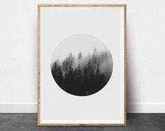 Black and White Print Set Black and White by ThePrintableStudio