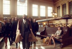 """Natalia Vodianova and Sean """"Diddy"""" Combs: Brief Encounter - by Robert Sullivan   photographed by Annie Leibovitz"""