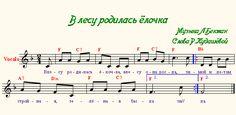ноты в лесу родилась елочка для пианино для начинающих: 11 тыс изображений найдено в Яндекс.Картинках