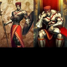 Fate Grand Order - Lancer - Leonidas Fate Grand Order Lancer, Fate Archer, Beowulf, Fate Anime Series, Type Moon, Manga Pictures, Fate Stay Night, Cultura Pop, Anime Love