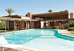 Frank Sinatra's Twin Palms Estate in Palm Springs, Ca for weddings and events..