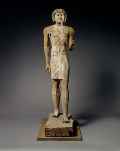 Standing statue of Kaemsenu (?) | Old Kingdom | The Met