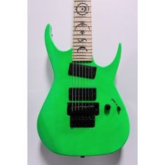 Dean USA Rusty Cooley RC7 Nuclear Green NAMM Custom Shop 7 w/ BKP Pickups