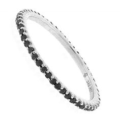 Beverly K Collection, ring Eternity Bands, Black Diamond, Jewelry Design, Engagement Rings, Bracelets, Silver, Gifts, Gift Ideas, Collection
