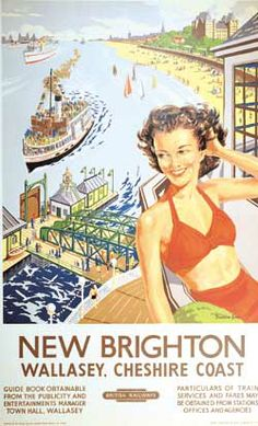OOH LA LA. EAT YOUR HEART OUT, SOUTH OF FRANCE. YOU AIN'T GOT WHAT IT TAKES TO RIVAL NEW BRIGHTON, WALLASEY. THE HOKEY POKEY MAN AND AN INSANE HAWKER OF FISH BY CONNIE DURAND, AVAILABLE ON AMAZON KINDLE.