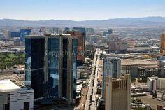 Las Vegas Skyline from the Stratosphere Tower USA photo picture poster art print #lasvegas #usa #photo #art