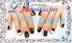 Bianco&Nero!  #blackandwhite #nailart #langolodellefate