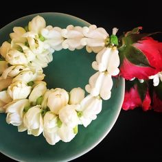 In #Thailand they give you these gorgeous #flower garlands in hotels and restaurants