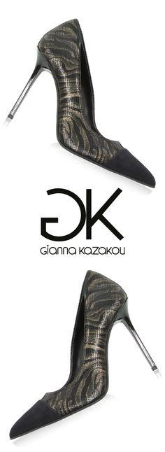 Glamorous pumps by Gianna Kazakou Pumps, Heels, Fall Winter, Glamour, Collection, Fashion, Choux Pastry, Heel, Moda