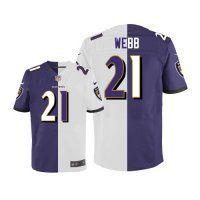 #21 Lardarius Webb Baltimore Ravens Elite Jersey