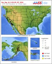 Fault Lines In The US This Map Shows The Major Earthquake Hazard - Us earthquakes map