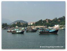 Arriving in Cheung Chau Island