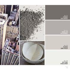 graue und schattierungen von grau als farbpalette f r wohnzimmer color pinterest. Black Bedroom Furniture Sets. Home Design Ideas