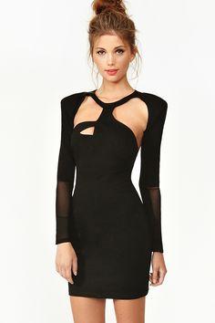 Hacker Dress - Black #nastygal #bestholidaydresses