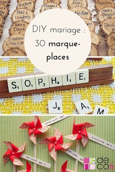 DIY mariage : 30 marque-places à fabriquer Wedding Table, Diy Wedding, Wedding Day, Wedding Tips, Wedding Fotografie, Origami Wedding, Wedding Timeline, Just Married, Simple Weddings