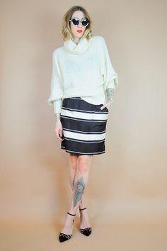 Ivory 70's LOOSE KNIT Sweater || NOIROHIO VINTAGE