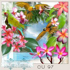 CU Vol. 97 Exotic by Kreen Kreations #CUdigitals cudigitals.com cu commercial digital scrap #digiscrap scrapbook graphics