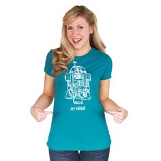 R2-D2 My Hero Tee! Love it!