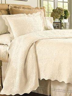Delancey Matelasse Bedding | LinenSource $140