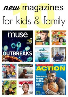 top 10 NEW magazines for kids and family 08 | 19 | 2015top 10 NEW magazines for kids and family