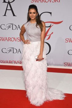 Nina Dobrev at #CFDAAwards (06/01/15)