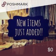 New Items Added More Coming! Other
