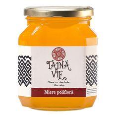 Miere polifloră Taina Vie Drink Bottles, Vitamins, Water Bottle, Drinks, Beekeeping, Drinking, Beverages, Water Bottles, Drink