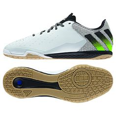 separation shoes 0730a 6acd8 adidas ACE 16.2 CT Indoor Soccer Shoes (White Green)   SoccerEvolution