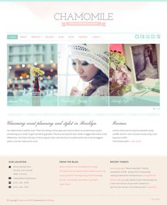 Chamomile WordPress Theme Review - BluChic