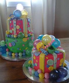 Bubble cake (Not so much this design, but the bubbles themselves may work)