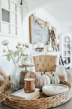 Decoration Inspiration, Decoration Design, Autumn Inspiration, Decor Ideas, Design Inspiration, Thanksgiving Decorations, Seasonal Decor, Holiday Decor, Fall Decorations