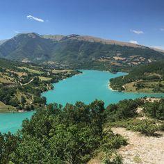 Lago di Fiastra Marche Italy