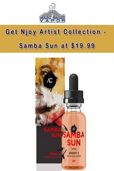 At Mount Baker Vapor, they are offering Njoy Artist Collection - Samba Sun at $19.99. Clementine, peach, and apricot swirl with the pillowy delight of marshmallow in Samba Sun. This E-Juice is light, fresh, and fluffy. For more Mt Baker Vapor Coupon Codes visit: http://www.couponcutcode.com/stores/mount-baker-vapor/