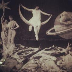 Georges Méliès - A Trip to the Moon/ Le Voyage dans la lune (1902) (Taken with instagram)