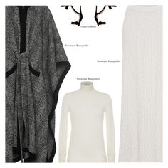 """Untitled #3562"" by amberelb ❤ liked on Polyvore featuring Veronique Branquinho and Gianvito Rossi"