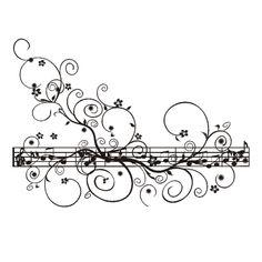 Adesivo Decorativo Musica Notas Musicais