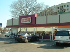 Very First Dunkin Donuts Location. grab some donuts and frappichinos for the road Dunkin Donuts Locations, Mister Donuts, Krispy Kreme, Doughnuts, New England, Boston, Restaurants, Miami, Spaces