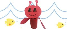 Make a Lobster from a Toilet Paper Roll - BabbaCo