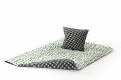 Biler / stjerner BABY sengetøj fra Smallstuff