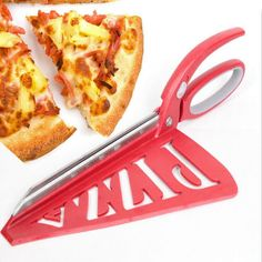 Yes, we can reinvent the wheel! Instead of frustratingly hacking away with your old fashioned traditional pizza wheel, you will love our Pizza Scissors