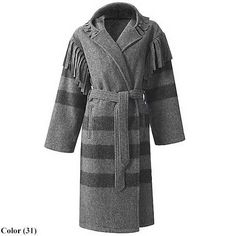 Woolrich Capote Wool Coat (for Men and Women) - Save Native American Moccasins, Native American Clothing, Rugged Men, Rugged Style, Mountain Man Clothing, Capote Coat, Blanket Jacket, Cowboy Outfits, Renaissance Clothing