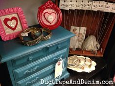 Image from http://ducttapeanddenim.com/wp-content/uploads/2015/02/CeCe-Caldwells-Thomasville-Teal-on-a-jewelry-cabinet.-My-shelf-at-Paris-Flea-Market-Livermore-California-DuctTapeAndDenim.com_.jpg.