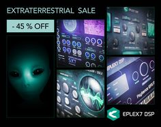 Modern VST / AU plug-ins for music producers. VSTi synthesizers and VST plugin effects that make progressive, innovative and futuristic sounds - DSP Black Friday 2019, Vacuum Tube, Electronic Music, Futuristic, Plugs, Innovation, Instruments, Learning, Corks