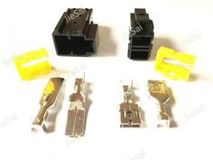 Automotive Connector 9.5mm 2 Pin Male Female Kit Electrical Large Heavy Current Auto Plug