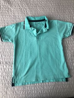 7ccf15caf532 Boys KITESTRINGS Polo Style Shirt Mint Green Size 8 Perfect condition   fashion  clothing