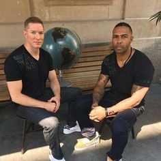 If you watch Power on Starz you know who these two are... Tommy and James St. Patrick.