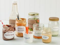 Don't Throw That Out! : When all that's left of your favorite condiment is a few streaks in the jar, it'd be a shame to relegate them to the recycling. Here are eight ways to make the most of an almost-empty container. via Food Network