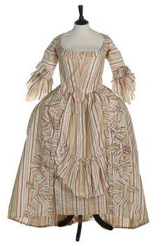 Robe à la française, 1770′sFrom Kerry Taylor Auctions